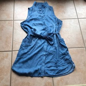 3/$30 A New Day Soft Wash Button Front Dress XXL